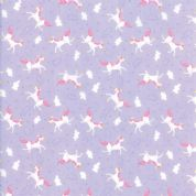 Moda - Once Upon a Time - Stacey Iest Hsu - 6248 - Unicorns on Lilac - 20596 17 - Cotton Fabric